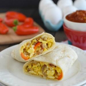 Loaded Egg Burritos title 2