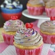 Apple Milky Way Cupcakes