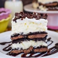 Coconut Oreo Icebox Cake