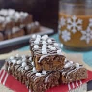 Salted Caramel Hot Chocolate Granola Bars