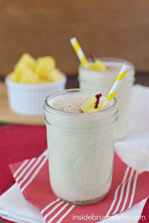 Vanilla Pineapple Smoothie