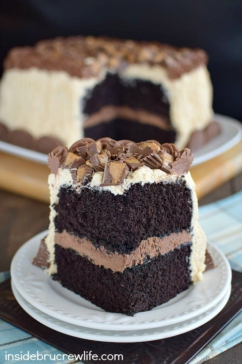 Best Chocolate Peanut Butter Cake 11
