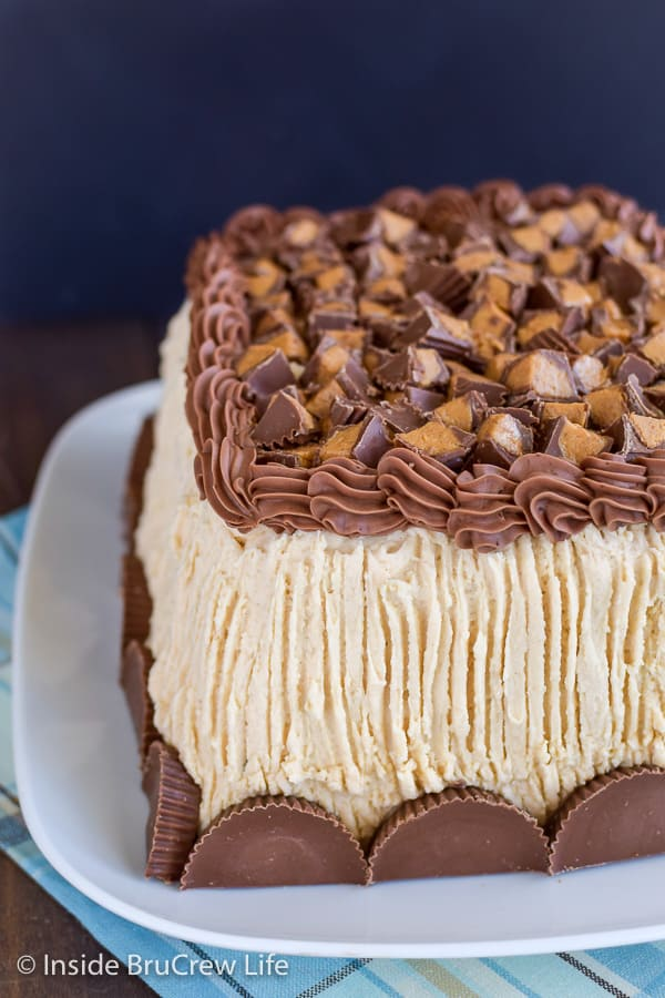 Best Chocolate Peanut Butter Cake