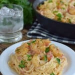 Spicy Parmesan Shrimp Scampi