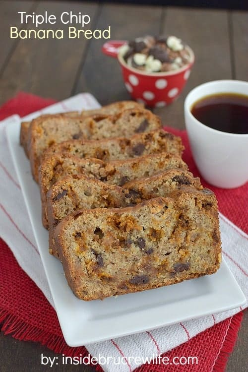 Three times the chocolate chips will make this banana bread a hit at ...
