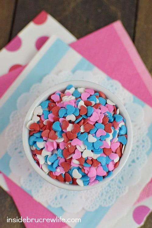 Valentine's sprinkles