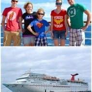 BruCrew Goes Carnival Cruising