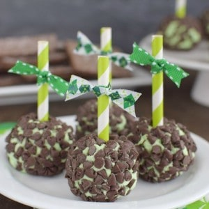 Mint Chocolate Chip Cheese Balls title 1