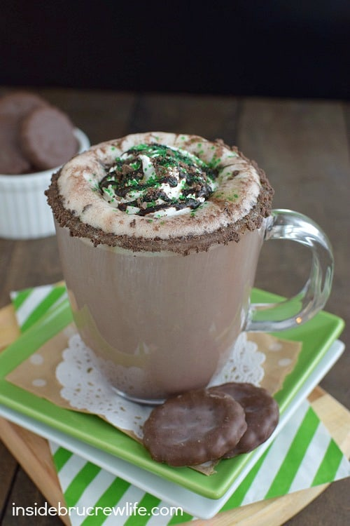 Thin Mint Latte