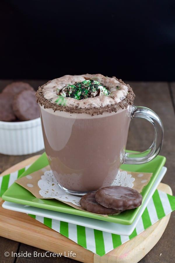 Thin Mint Latte