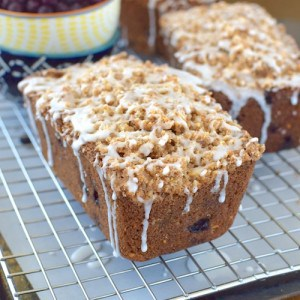 Blueberry Almond Crumble Bread 8