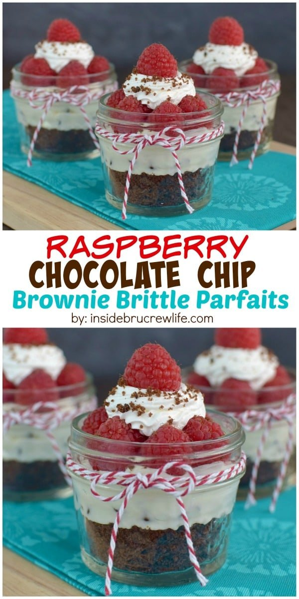 These easy no-bake cheesecake parfaits can be made in minutes and are perfect for ending any meal with.