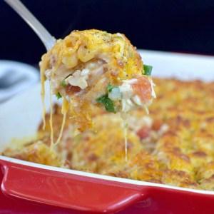 Mexican Chicken Tater Tot Casserole 2