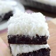 Coconut Nutella Brownies