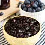 Honey Blueberry Sauce