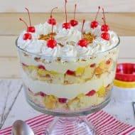 Pina Colada Cake Trifle