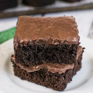 Frosted Zucchini Brownies 4-1