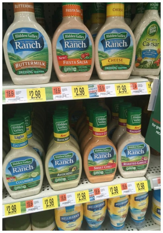 Hidden Valley Ranch dressings