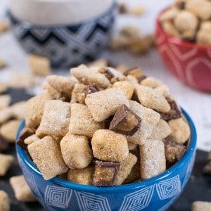 Peanut Butter S'mores Muddy Buddies 1-2