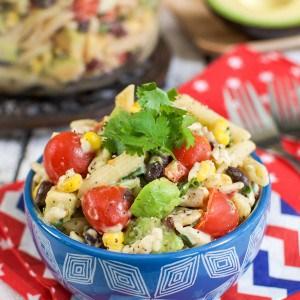 Southwest Avocado Ranch Pasta Salad 12-1