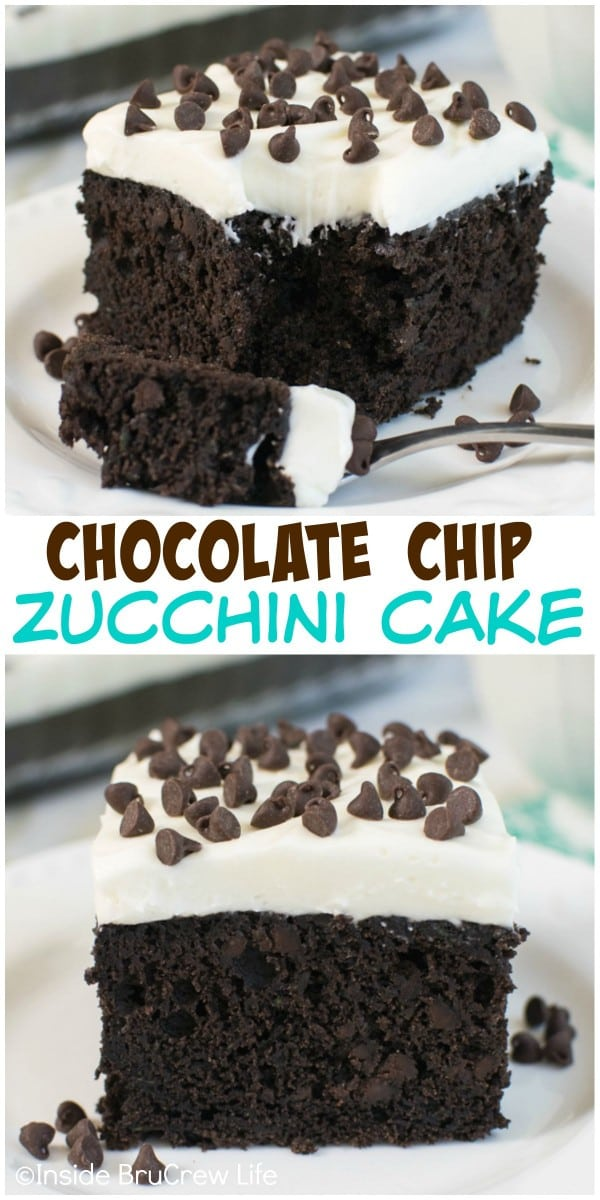 This decadent chocolate cake is the best way to use up all that zucchini from your garden.