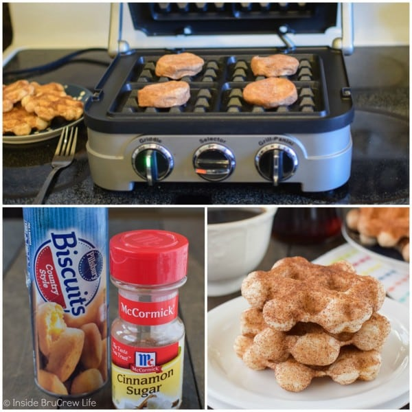 How to make easy cinnamon sugar waffles