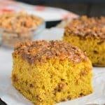 Pumpkin Butterfinger Cake