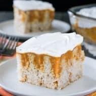 Pumpkin Spice Pudding Cake
