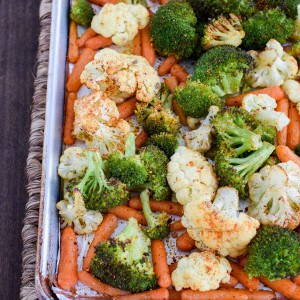 Roasted Veggies (and a FitBit Giveaway)