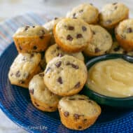 Mini Chocolate Chip Pancake Muffins Recipe