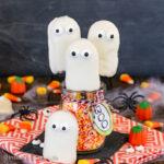 No Bake Ghost Cookies