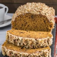 Pumpkin Pecan Bread