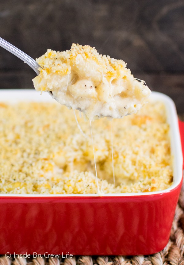 Three kinds of cheese make this easy macaroni and cheese a winner ...
