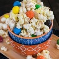 Toffee Pretzel M&M's Popcorn