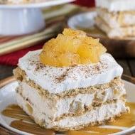 Cinnamon Apple Icebox Cake