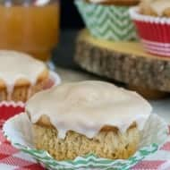 Glazed Apple Cider Muffins