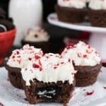 Chocolate Peppermint Oreo Cookie Cups