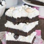 Mocha Hot Chocolate Cookie Bars