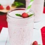 Skinny Raspberry Mint Smoothie