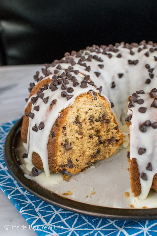 Adding coffee and chocolate to this Java Chip Bundt Cake makes it the perfect dessert recipe for coffee lovers!