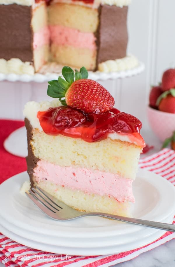 Chocolate Cake With Strawberry Pie Filling Recipe