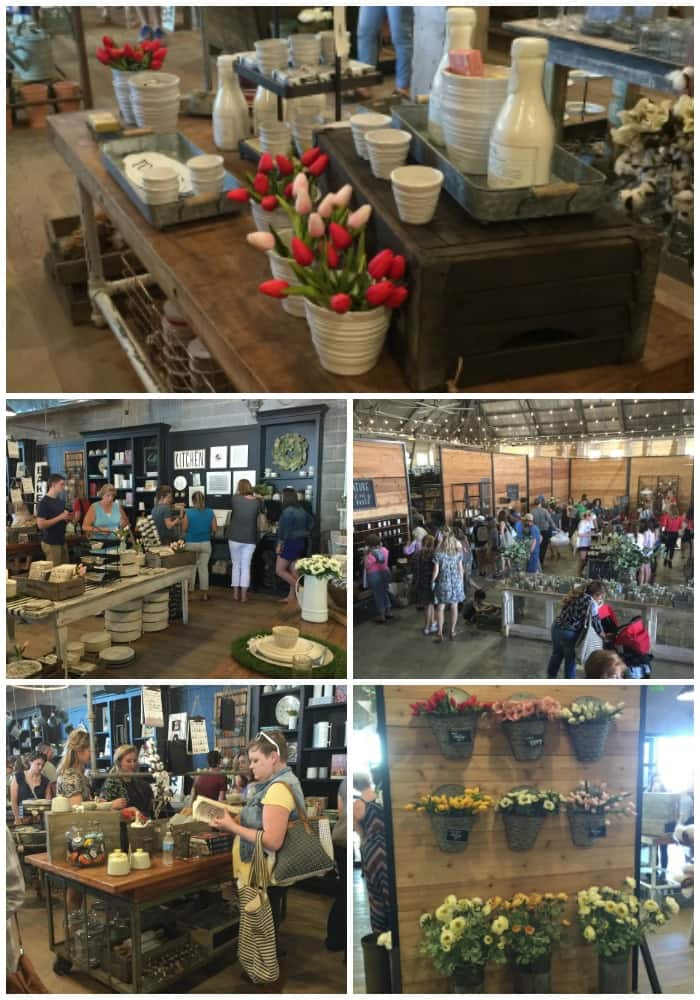 Shopping at Magnolia Market in Waco, Texas