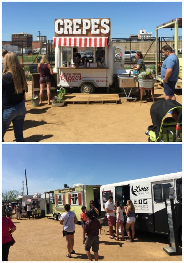 Food Trucks at Magnolia Market