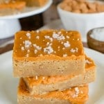 Salted Butterscotch Bars