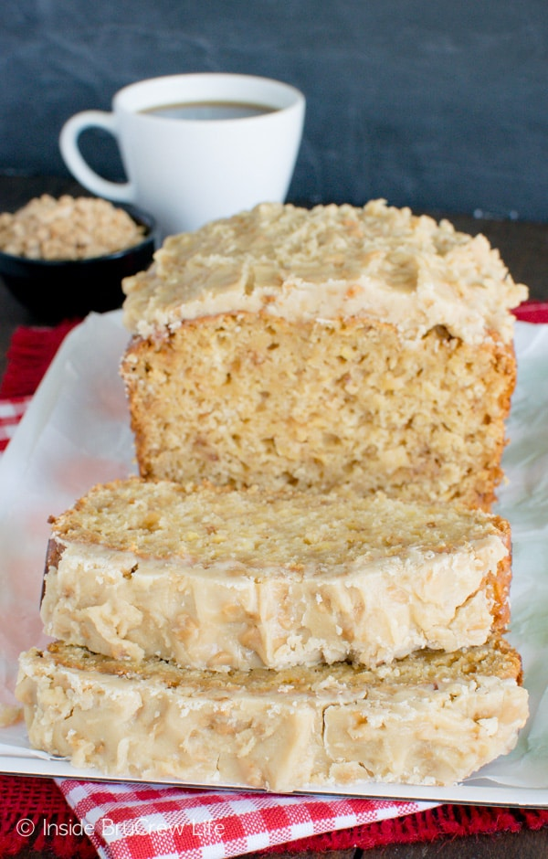 Toffee Apple Bread