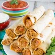 Cheesy Taco Taquitos