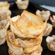 Cinnamon Sugar Dessert Cups