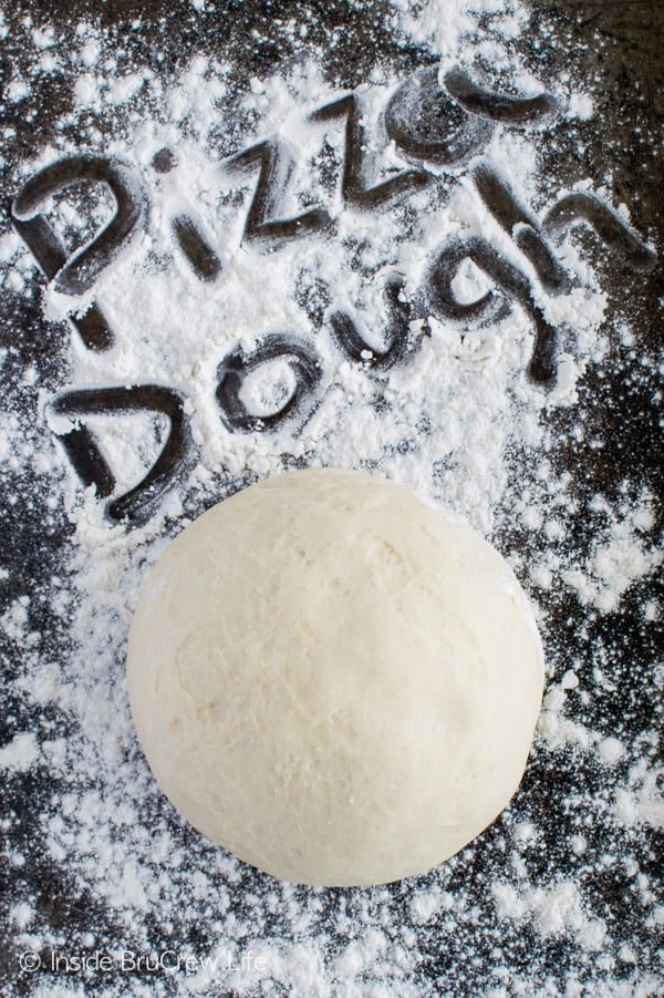 Homemade Pizza Dough - Making your own pizza, breadsticks, and calzones is easy with this recipe.