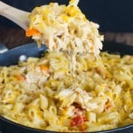 Cheesy Chicken Pasta Skillet Recipe