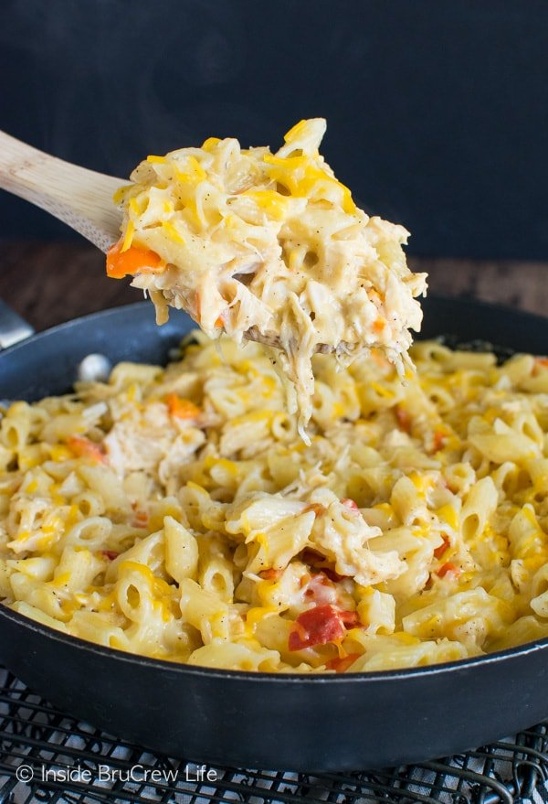 Cheesy chicken pasta inside brucrew life cheesy chicken pasta forumfinder Image collections
